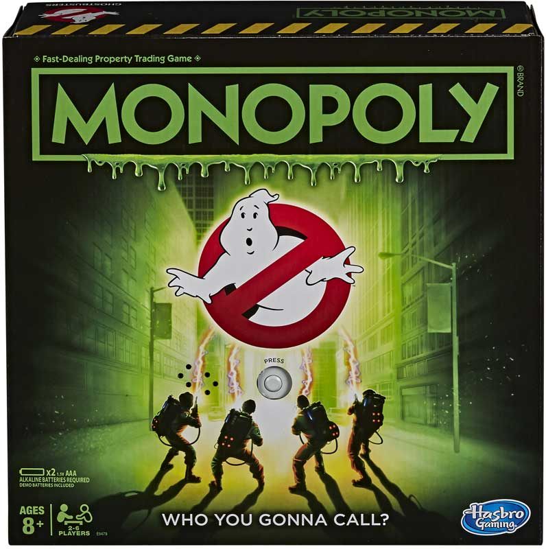 Wholesalers of Monopoly Ghostbusters toys