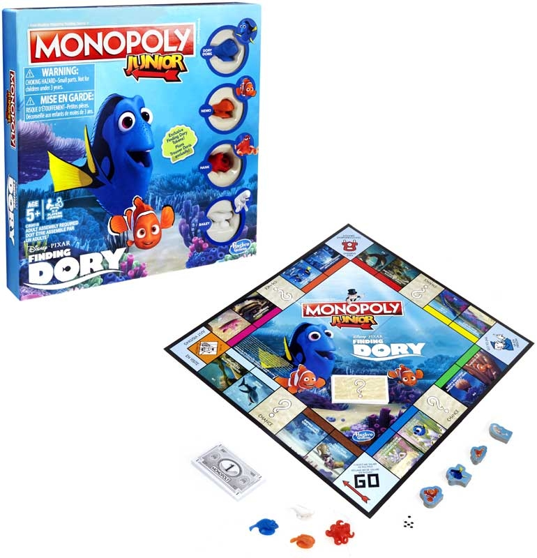 Wholesalers of Monopoly Junior Finding Dory toys