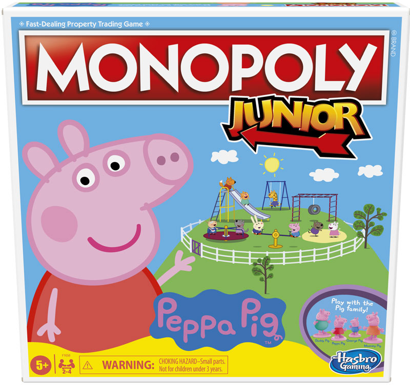 Wholesalers of Monopoly Junior Peppa Pig toys