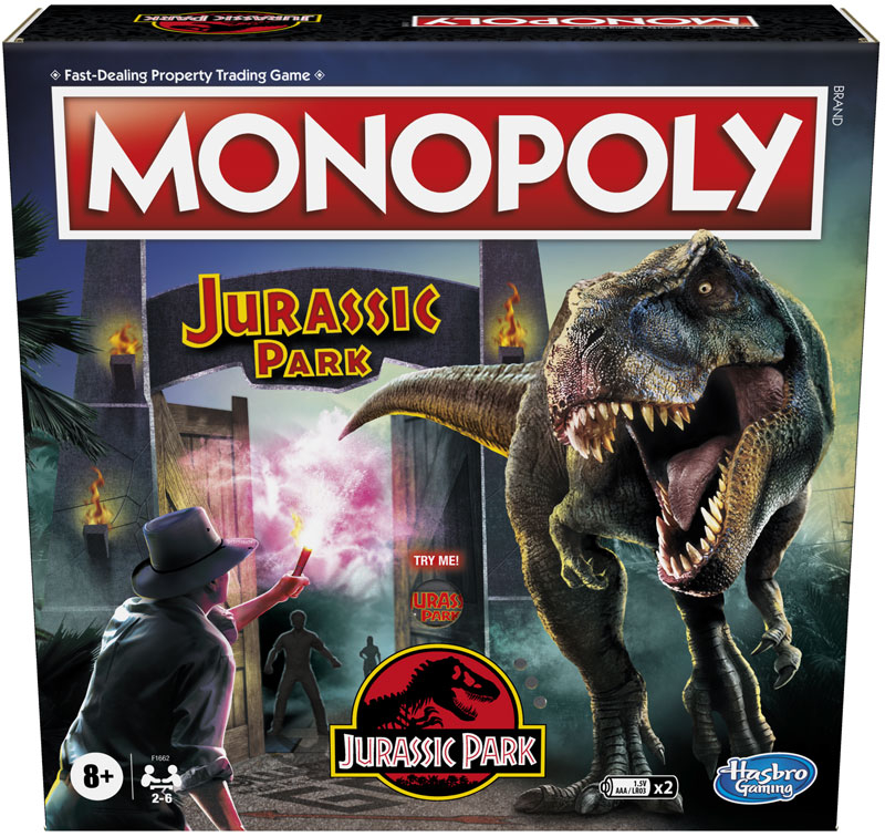 Wholesalers of Monopoly Jurassic Park toys