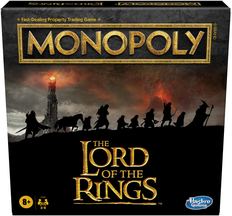 Wholesalers of Monopoly Lord Of The Rings toys