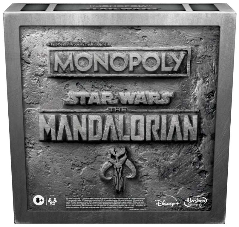 Wholesalers of Monopoly Mandalorian toys