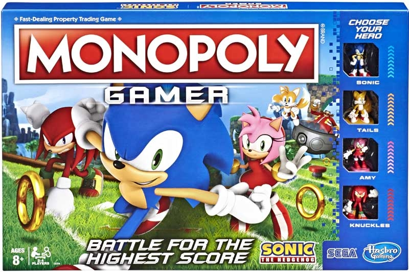 Wholesalers of Monopoly Sonic Gamer toys
