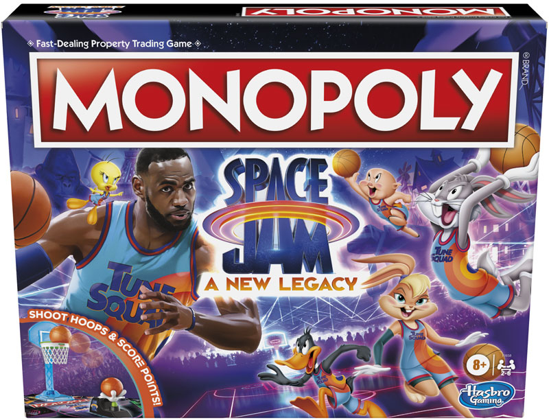 Wholesalers of Monopoly Space Jam toys