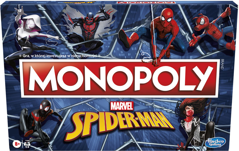 Wholesalers of Monopoly Spiderman toys