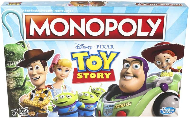 Wholesalers of Monopoly Toy Story toys