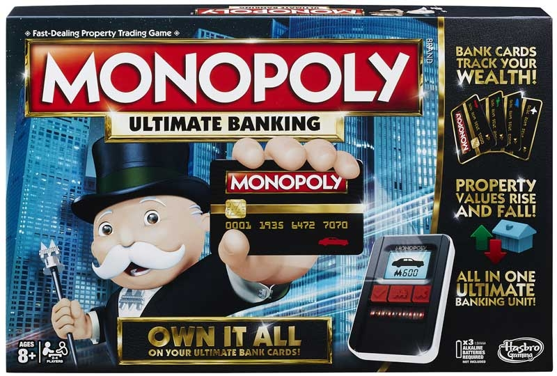 Wholesalers of Monopoly Ultimate Banking toys