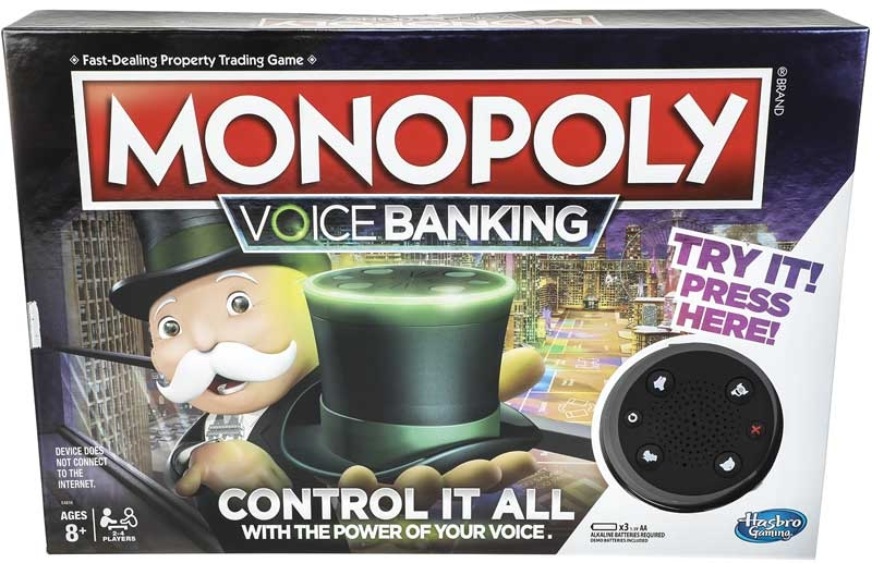 Wholesalers of Monopoly Voice Banking toys