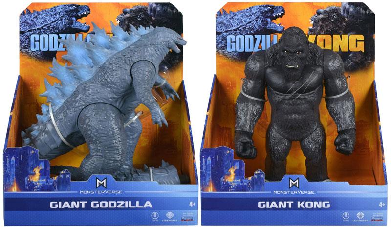 Wholesalers of Monsterverse Godzilla Vs Kong Giant Godzilla & Kong Asst toys