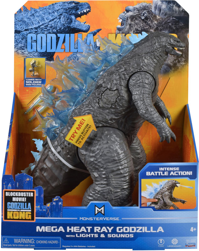 Wholesalers of Monsterverse Godzilla Vs Kong Mega Figure - Godzilla toys
