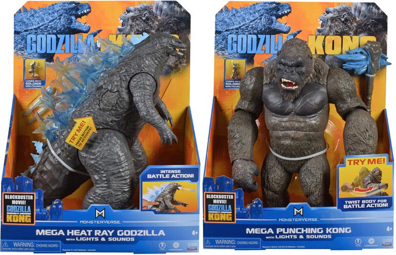 Wholesalers of Monsterverse Godzilla Vs Kong Mega Figure Asst Wave 1 toys