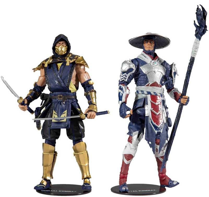 Wholesalers of Mortal Kombat 2pk - Scorpion & Raiden toys