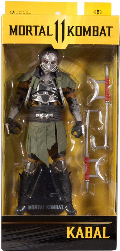 Wholesalers of Mortal Kombat 7in Figures Wv6 - Kabal toys