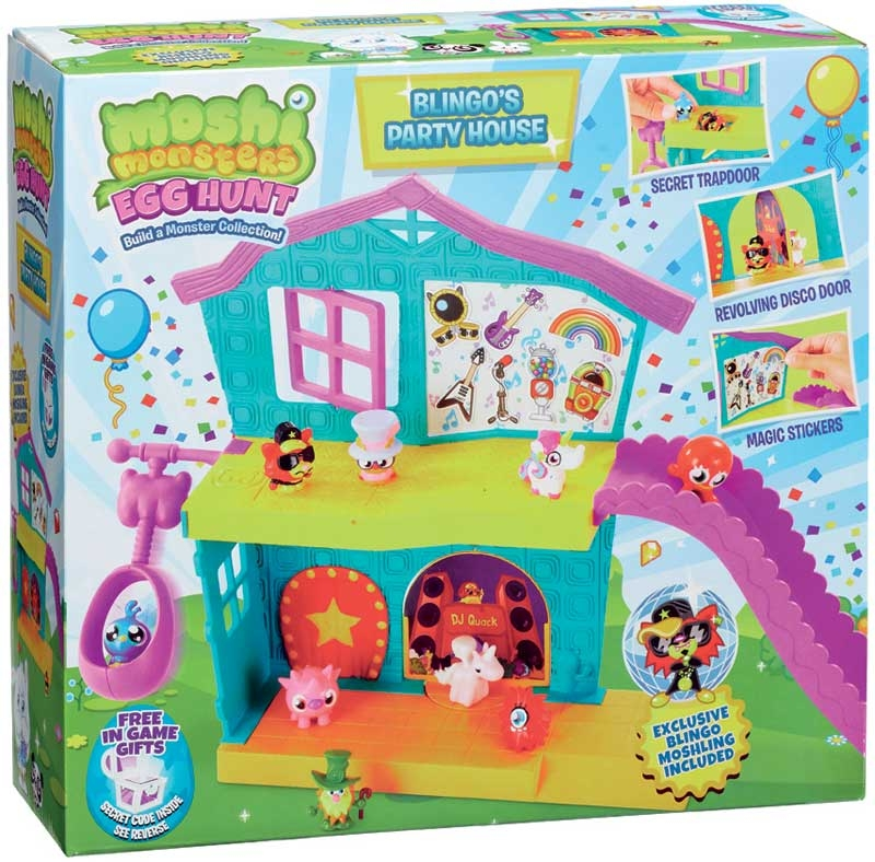 Wholesalers of Moshi Monsters Egg Hunt Blingos Party House Playset toys