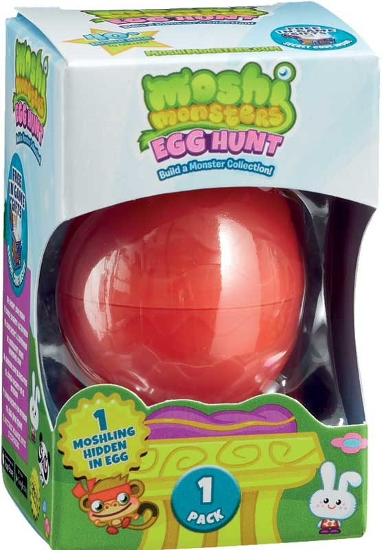 Wholesalers of Moshi Monsters Egg Hunt toys