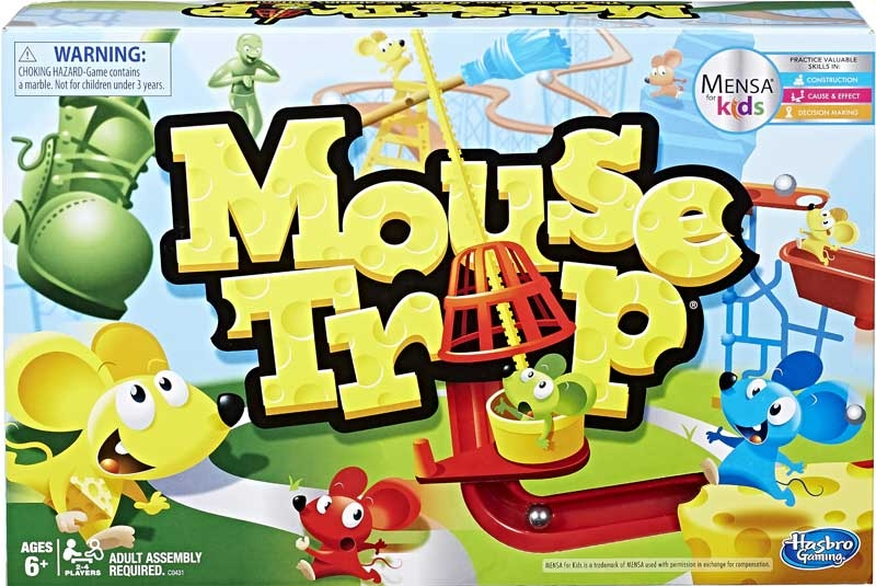 Wholesalers of Mousetrap toys