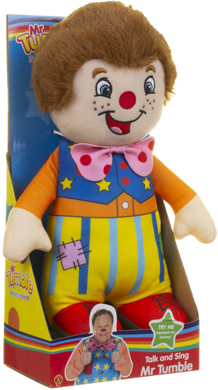 Wholesalers of Mr Tumble Talk And Sing Soft Toy toys