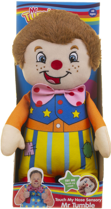 Wholesalers of Mr Tumble Touch My Nose Sensory Soft Toy toys