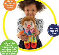 Wholesalers of Mr Tumble Touch My Nose Sensory Soft Toy toys image 4