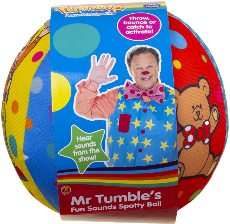 Wholesalers of Mr Tumbles Fun Sounds Spotty Ball toys