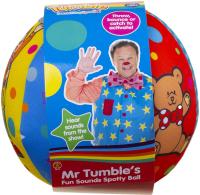 Wholesalers of Mr Tumbles Fun Sounds Spotty Ball toys Tmb