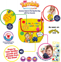 Wholesalers of Mr Tumbles Sensory Seek And Find Spotty Bag toys image 3