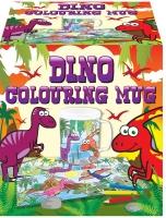 Wholesalers of Mug Colouring Dinosaur Asst toys image