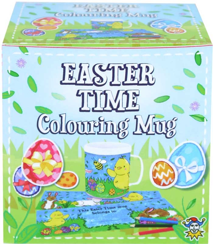 Wholesalers of Mug Colouring Easter toys