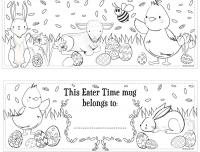 Wholesalers of Mug Colouring Easter toys image 3
