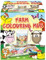 Wholesalers of Mug Colouring Farm Asst toys image