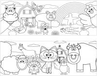 Wholesalers of Mug Colouring Farm Asst toys image 3