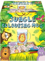 Wholesalers of Mug Colouring Jungle Asst toys image
