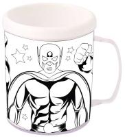 Wholesalers of Mug Colouring Super Hero Asst toys image 2
