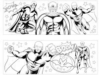 Wholesalers of Mug Colouring Super Hero Asst toys image 3