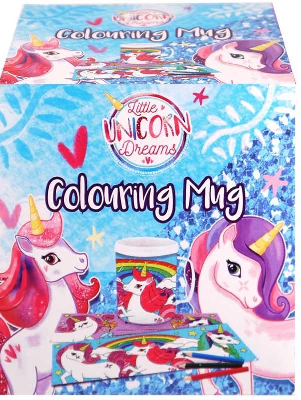 Wholesalers of Mug Colouring Unicorn Asst toys