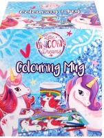 Wholesalers of Mug Colouring Unicorn Asst toys image