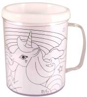 Wholesalers of Mug Colouring Unicorn Asst toys image 2