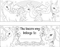 Wholesalers of Mug Colouring Unicorn Asst toys image 3