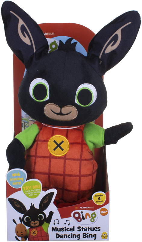 Wholesalers of Musical Statues Dancing Bing Soft Toy toys