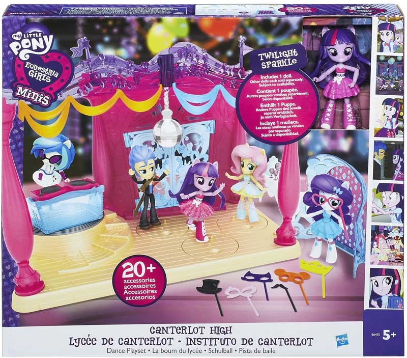 Wholesalers of My Litle Pony Equestria Girls Minis Canterlot High toys