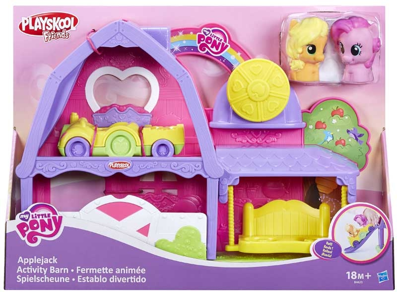 Wholesalers of My Little Pony - Applejack Activity Barn And Vehicle toys