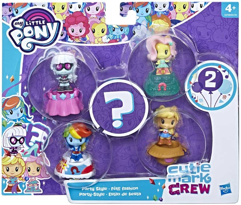 Wholesalers of My Little Pony Cutie Mark Crew Asst toys