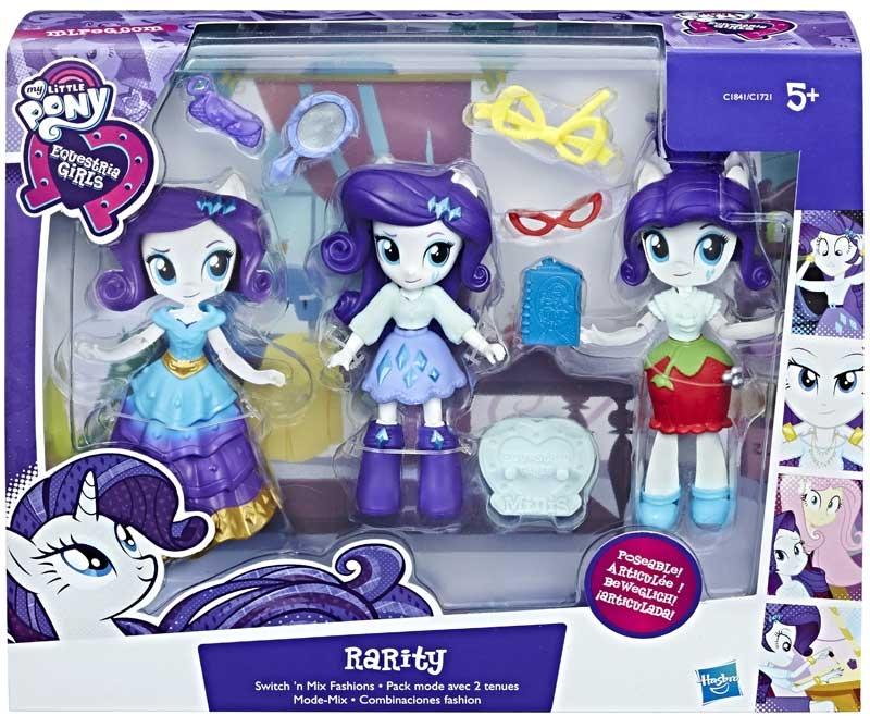 Wholesalers of My Little Pony Eg Minis Fashion Pack Rarity toys