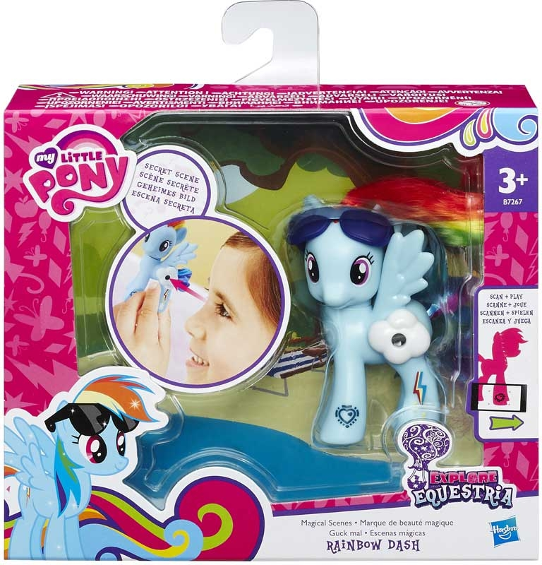 Wholesalers of My Little Pony Explore Equestria Magic Scenes Asst toys
