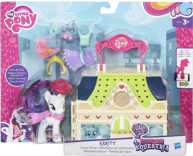 Wholesalers of My Little Pony Explore Equestria Manehatten toys