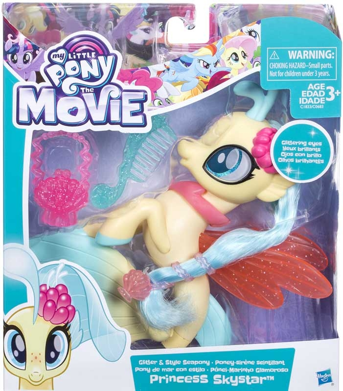 Wholesalers of My Little Pony Glitter And Style Seapony Asst toys