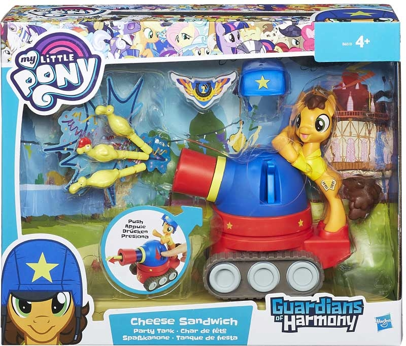 Wholesalers of My Little Pony Goh Cheese Sandwich And Party Tank toys