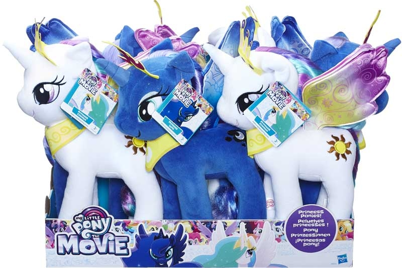 Wholesalers of My Little Pony Large Hair Plush Asst toys