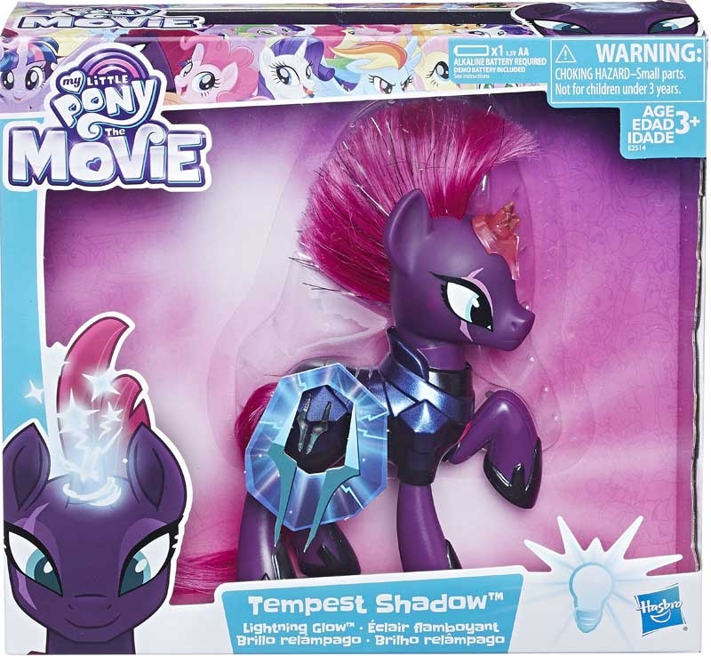 Wholesalers of My Little Pony Lightning Glow Tempest Shadow toys