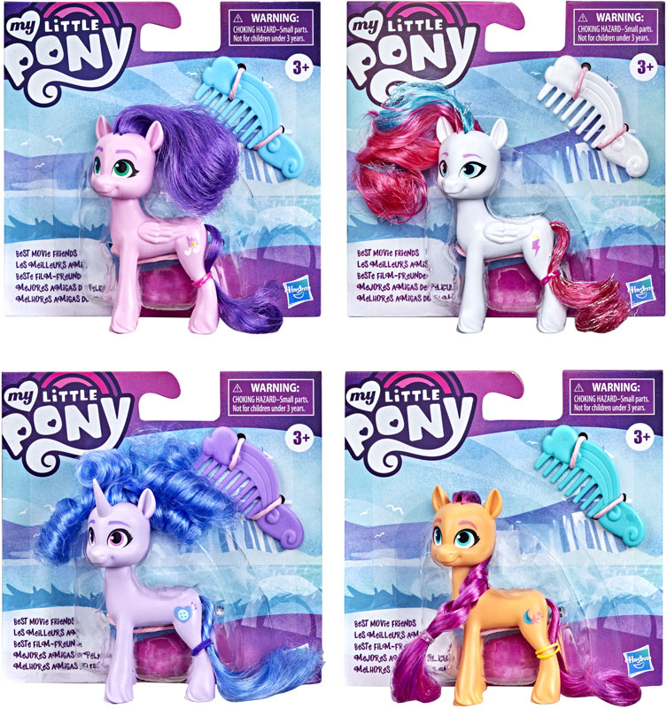 Wholesalers of My Little Pony Movie Best Movie Friends Asst toys
